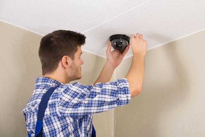Installazione impianto telecamere per casa